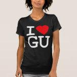 I Heart Love Guam Shirts