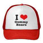 I HEART (LOVE) gummy bears Trucker Hat