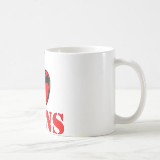 I (Heart) Love Guns Coffee Mug