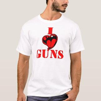 I (Heart) Love Guns T-Shirt