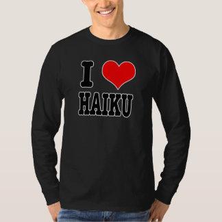 I HEART (LOVE) HAIKU TEE SHIRT