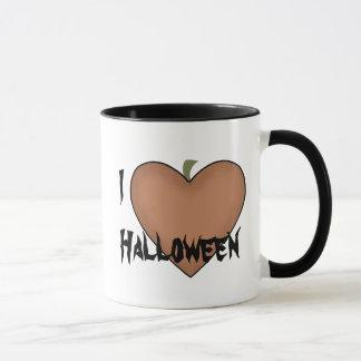 I Heart (Love) Halloween Mug
