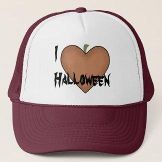 I Heart (Love) Halloween Trucker Hat