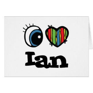 I Heart (Love) Ian Card