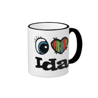 I Heart (Love) Ida Mugs