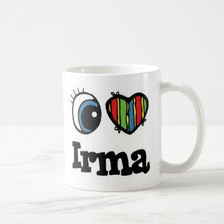 I Heart (Love) Irma Coffee Mug