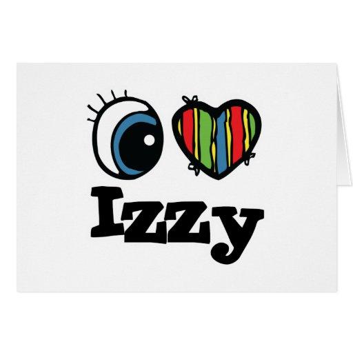 I Heart (Love) Izzy Card