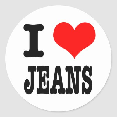 Jeans on Jeans Ability Breathe I Heart Jeans