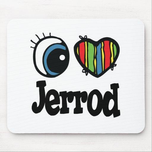 I Heart (Love) Jerrod Mouse Pad