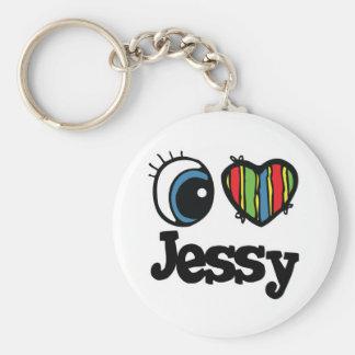 I Heart (Love) Jessy Keychain