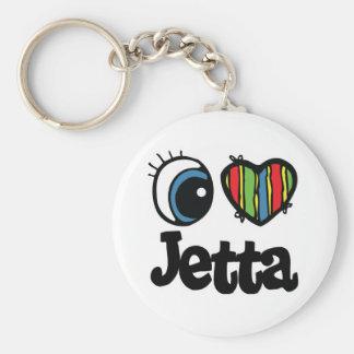 I Heart (Love) Jetta Keychain