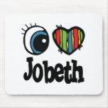 I Heart (Love) Jobeth Mouse Pad