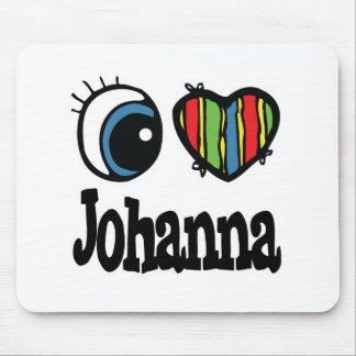 I Heart (Love) Johanna Mouse Pad