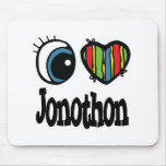I Heart (Love) Jonothon Mouse Pad