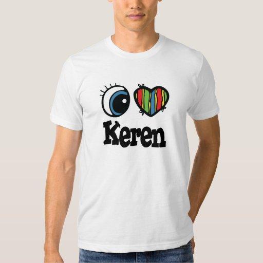 I Heart (Love) Keren Shirts