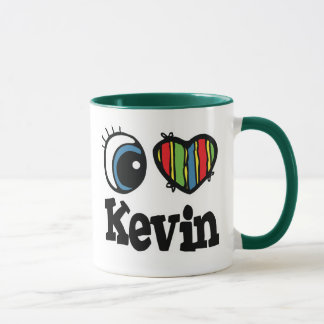 I Heart (Love) Kevin Mug