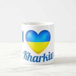 I Heart Love Kharkiv Ukraine Flag Mug