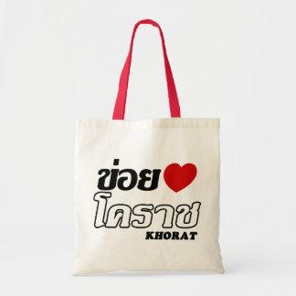 I Heart (Love) Khorat, Isan, Thailand Tote Bag