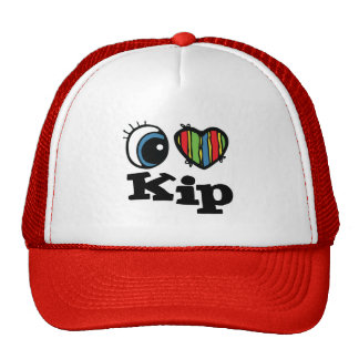 I Heart (Love) Kip Trucker Hat