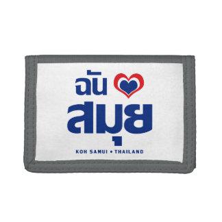 I Heart (Love) Koh Samui ❤ Thailand Trifold Wallet