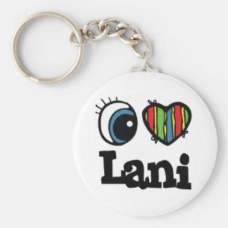 I Heart (Love) Lani Keychain