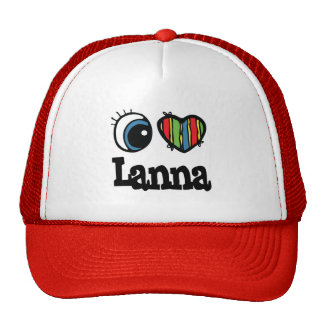 I Heart (Love) Lanna Trucker Hat