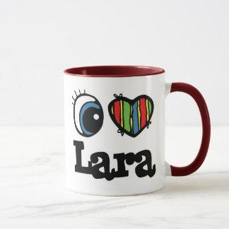 I Heart (Love) Lara Mug