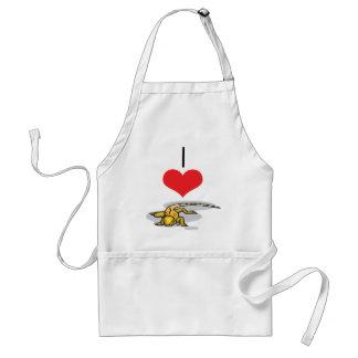I Heart (Love) Lizards Adult Apron
