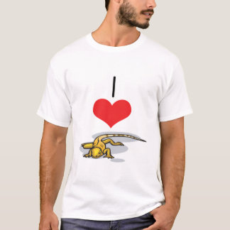 I Heart (Love) Lizards T-Shirt