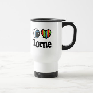 I Heart (Love) Lorne Coffee Mugs