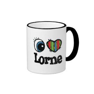 I Heart (Love) Lorne Coffee Mug