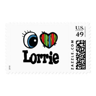 I Heart (Love) Lorrie Postage