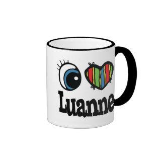 I Heart Love Luanne Coffee Mug