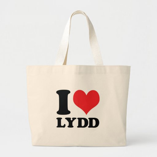 I Heart / love Lydd Canvas Bag