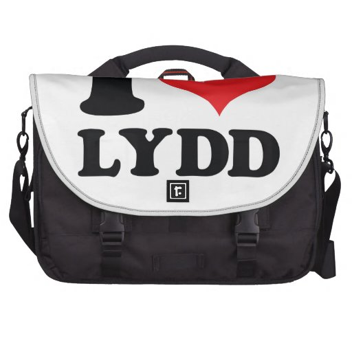 I Heart / love Lydd Bags For Laptop