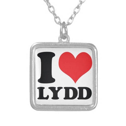 I Heart / love Lydd Custom Necklace