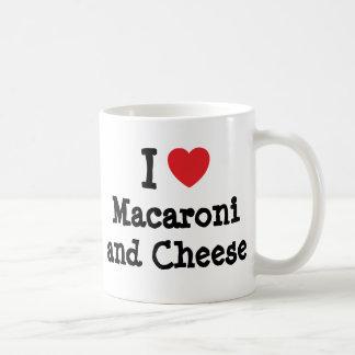 I heart (love) Macaroni and Cheese Coffee Mug