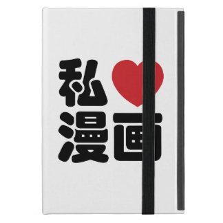 I Heart [Love] Manga 漫画 // Nihongo Japanese Kanji Case For iPad Mini