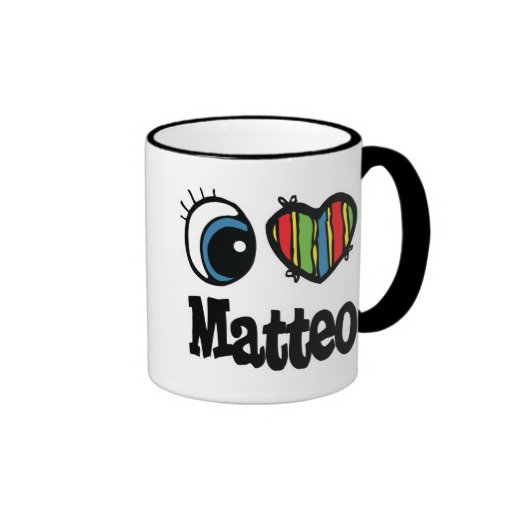 I Heart (Love) Matteo Mugs
