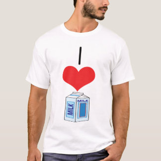 I Heart (Love) Milk T-Shirt