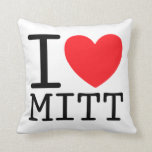 I Heart (Love) Mitt (Romney) Pillows