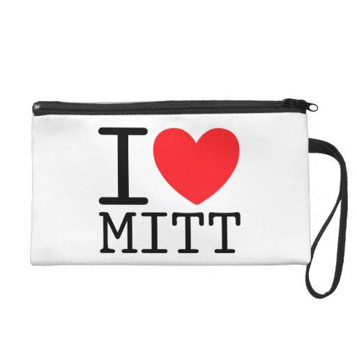 I Heart (Love) Mitt (Romney) Wristlets Bags