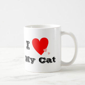I Heart (Love) My Cat Mug