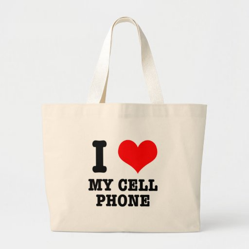 I HEART (LOVE) my cell phone Bag