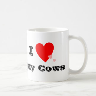 I Heart (Love) My Cows Mug