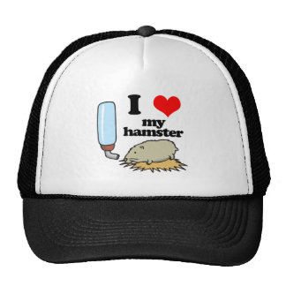 I Heart (Love) My Hamster Trucker Hat