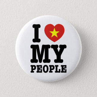 I Heart (Love) My Viet People Button
