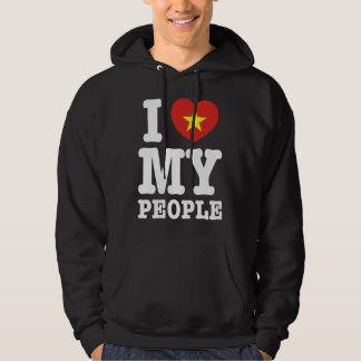 I Heart (Love) My Viet People Hooded Pullover