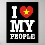I Heart (Love) My Viet People Print