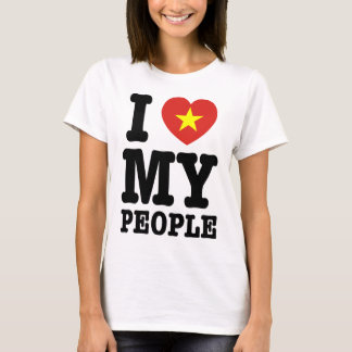 I Heart (Love) My Viet People T-Shirt